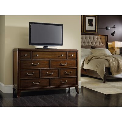 Palisade 10 Drawer Media Chest by Hooker Furniture