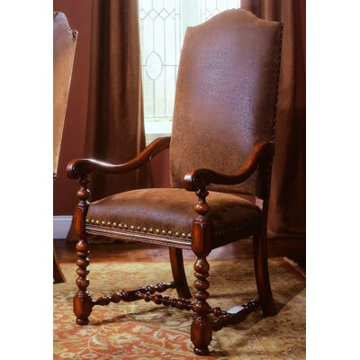 Waverly Place Upholstered Back Arm Chair by Hooker Furniture