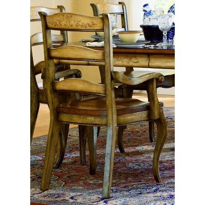 Vineyard Ladderback Arm Chair by Hooker Furniture