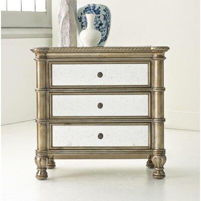 Melange Montage 3 Drawer Bachelor's Chest by Hooker Furniture