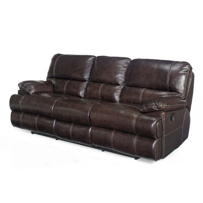 Leather 2 Reclining Sofa by Hooker Furniture