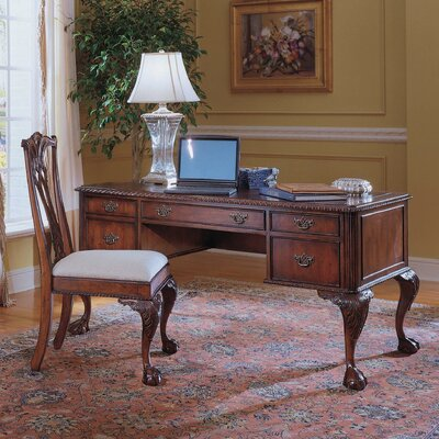 Bedford Row Computer Desk with Keyboard Tray and 4 Drawer by Hooker Furniture