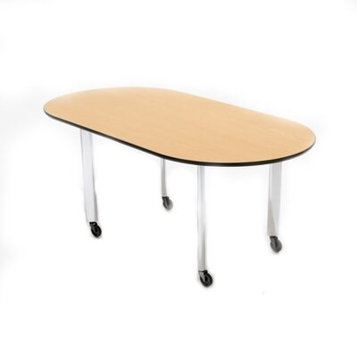 "Knoll ® D'Urso 72"" Racetrack Work Training Table"
