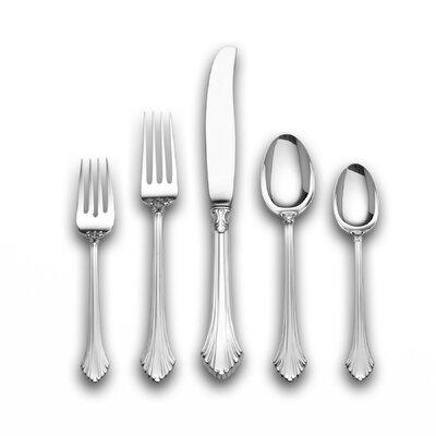 Sterling Silver French Regency 5 Piece Dinner Flatware Set by Wallace