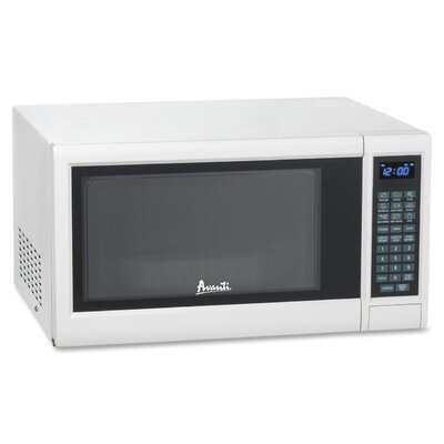 1.2 Cu. Ft. 1000W Countertop Microwave in White Product Photo