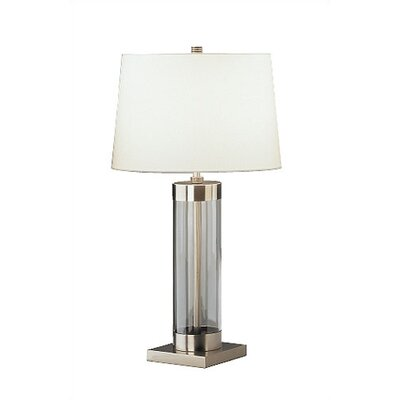 """Robert Abbey Andre Square Base 28.75"""" H Table Lamp with Empire Shade"""