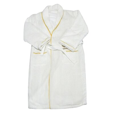 Spa and Bath European Waffle Weave Terry Cloth Robe by Radiant Saunas