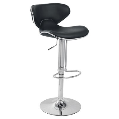 Adjustable Height Bar Stool with Cushion by Creative Images International