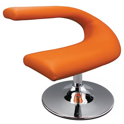 Creative Images International Leatherette Side Chair