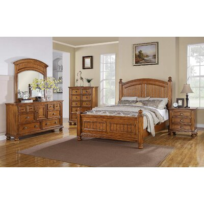 Winners Only, Inc. Newport 6 Drawer Combo Dresser with Mirror