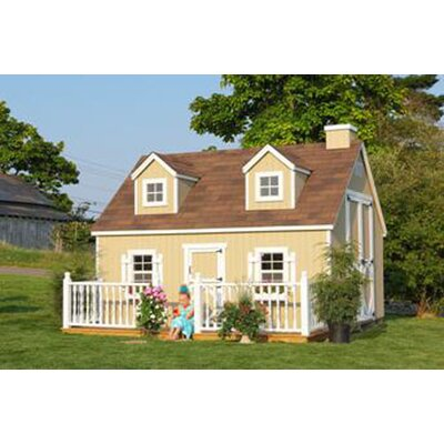 Little Cottage Company Cape Cod Large Playhouse Kit with No Floor