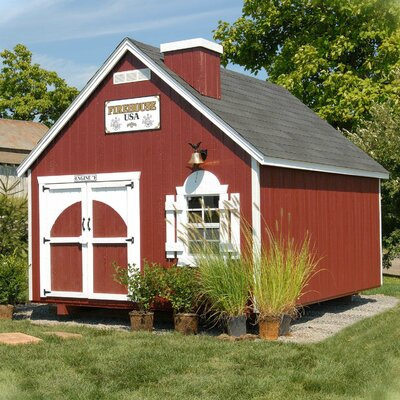 Little Cottage Company Firehouse Kit Playhouse FHKF