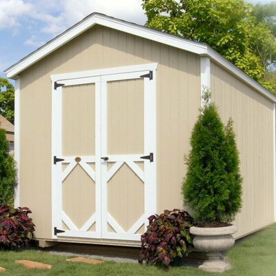 Little Cottage Company Wood Storage Shed