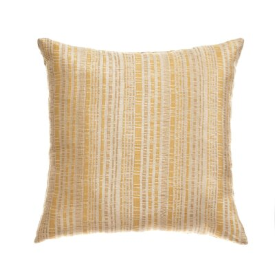 "Softline Home Fashions Ariel Batik 18"" Pillow in Soft Gold"
