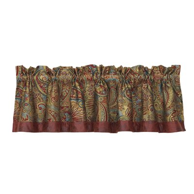 "San Angelo Paisley 84"" Curtain Valance Product Photo"