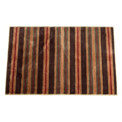 High Country Rustic Red/Tan Area Rug by HiEnd Accents