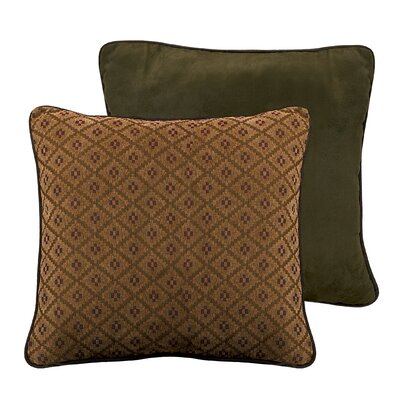 Black Pine Reversible Euro Sham by HiEnd Accents
