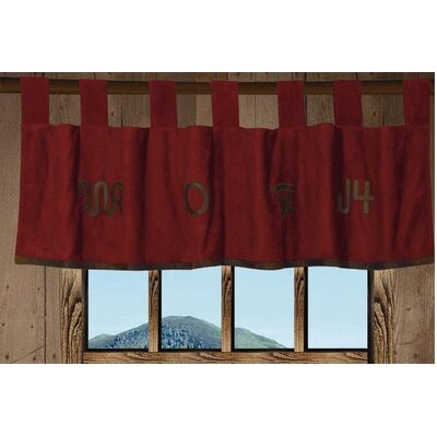 """HiEnd Accents Wrangler 84"""" Curtain Valance"""