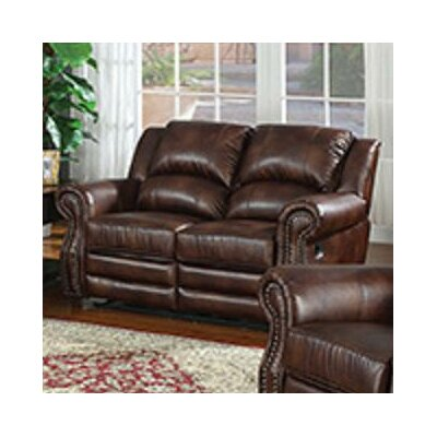 Fulton Reclining Loveseat by AC Pacific