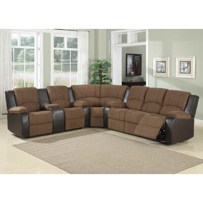AC Pacific Peter Symmetrical Sectional