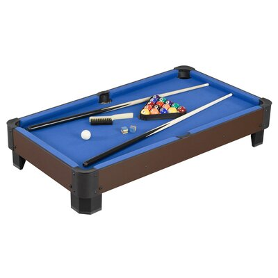 Sharp Shooter 3' Table Top Pool Table by Hathaway Games