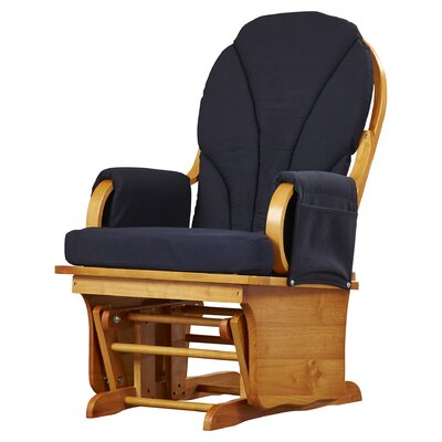 Lullaby Glider Rocker in Navy by Foundations