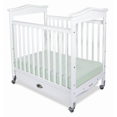 Foundations Biltmore Compact Size Clearview Convertible Crib with Mattress