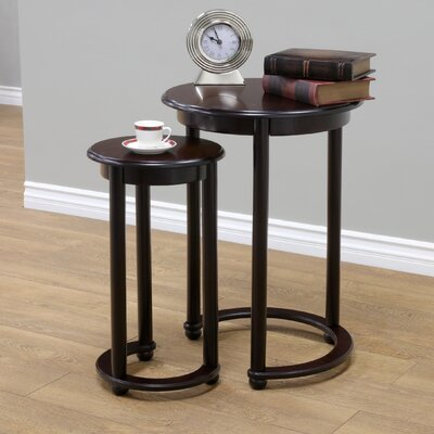 2 Piece Nesting Tables by Mega Home
