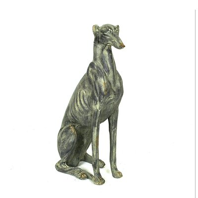 Chateau Magnesia Dog Statue by Creative Co-Op