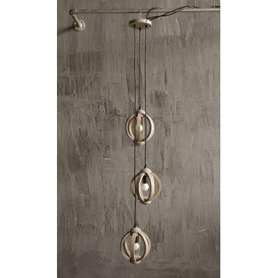 Indigo Wood Pendant Product Photo