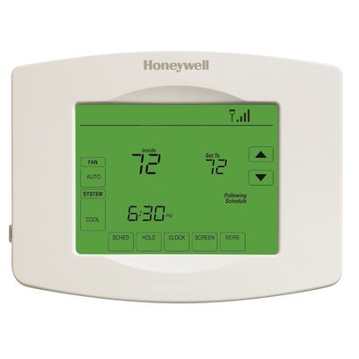 7-Day Programmable Touchscreen Wi-Fi Enabled Thermostat Product Photo