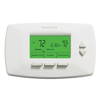7-Day Programmable Digital Energy Star Rated Thermostat Product Photo