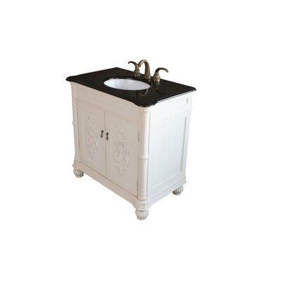 "Bellaterra Home Carlisle 36"" Single Bathroom Vanity Set"