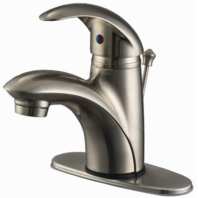 Single Hole Bathroom Faucet with Single Handle Product Photo