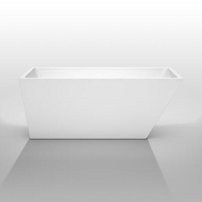 "Hannah 59"" x 29.5"" Soaking Bathtub Product Photo"