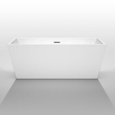 "Sara 63"" x 31.5"" Soaking Bathtub Product Photo"