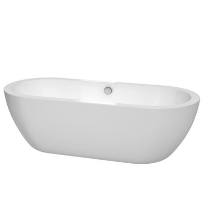 "Soho Freestanding 72"" H x 31"" Soaking Bathtub Product Photo"