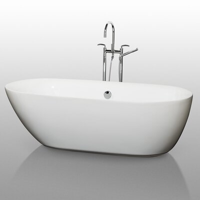 "Melissa 71"" x 33"" Soaking Bathtub Product Photo"