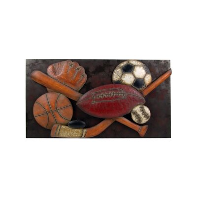 Firefly Home Collection Sports 3D Wall Décor