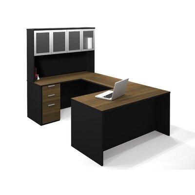 Bestar Pro-Concept U-Shape Desk with Hutch