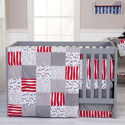 Dr. Seuss Cat And Things 3 Piece Crib Bedding Set by Trend Lab