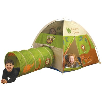 Pacific Play Tents Jungle Safari Play Tent and Tunnel Combination