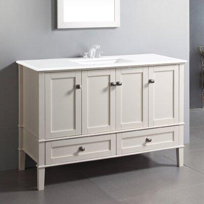 "Chelsea 48"" Single Bathroom Vanity Set Product Photo"