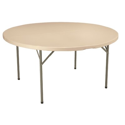 KFI Seating Round Blow-Molded Folding Table