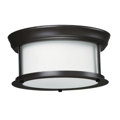 Z-Lite Sonna 2 Light Flush Mount