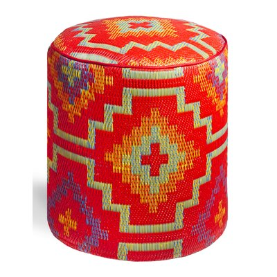 World Lhasa Ottoman by Fab Rugs