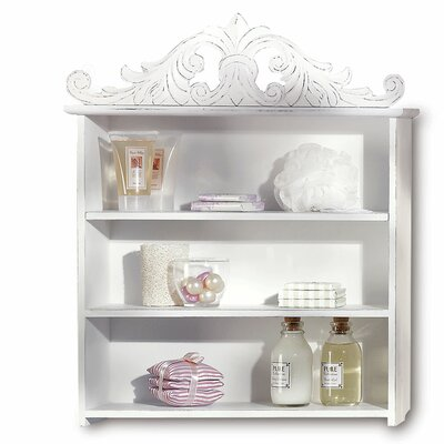 French Country Plume Display Shelf by Malibu Creations