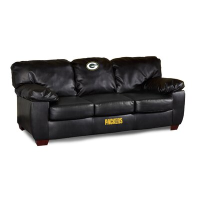 NFL Classic Leather Sofa by Imperial