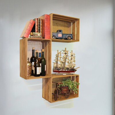 Wooden Crate by Quickway Imports