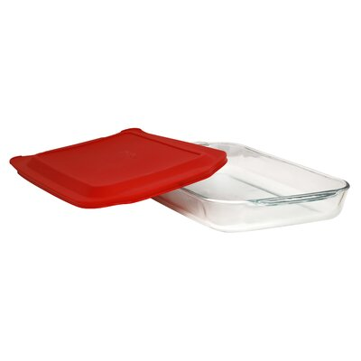 Pyrex 4 Qt. Oblong Baking Dish with Cover